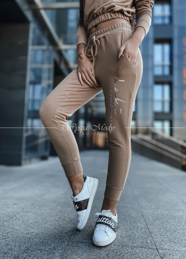 Spodnie Tiffany Beige