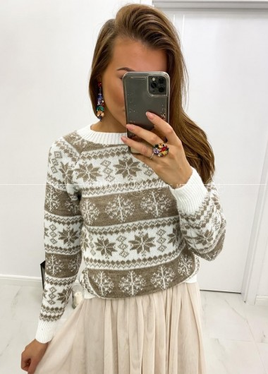 Sweterek snow white