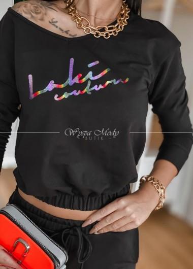 Bluza Tiffany black & color