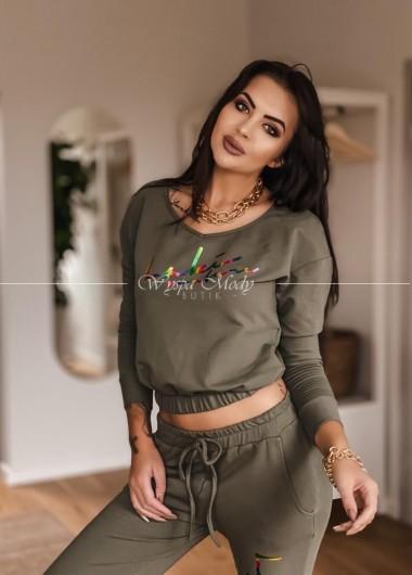 Bluza Tiffany khaki
