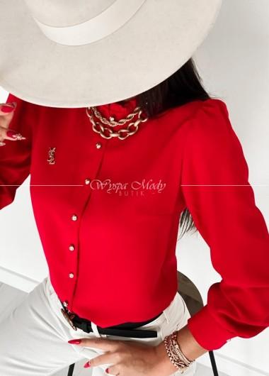 koszula Sara red
