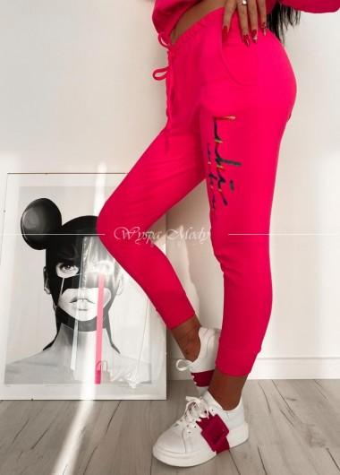 Spodnie Tiffany pink