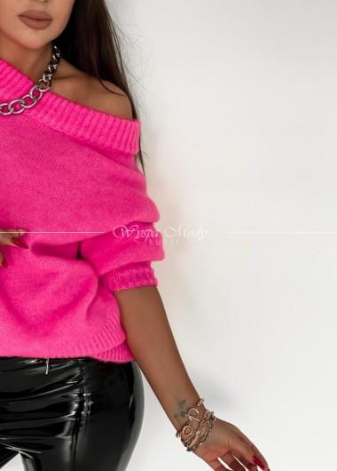 Sweter Lisa Neon pink
