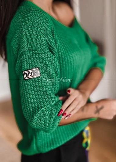 Sweterek Miluna Green