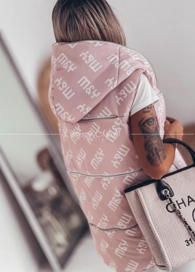 Kamizelka M&Y pink (czas dostawy 10 dni roboczych )