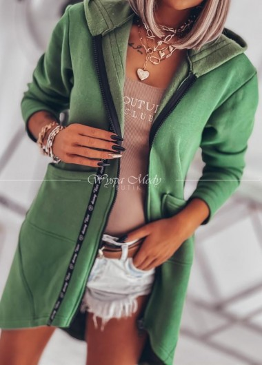 Płaszczyk dresowy Green