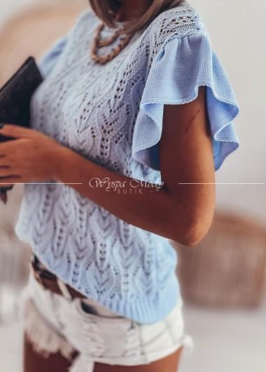 Bluzeczka azurkowa blue