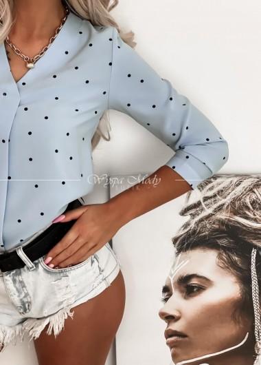 Koszula w groszki Blue