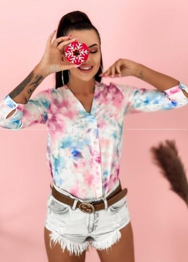 Koszula multicolor by o la
