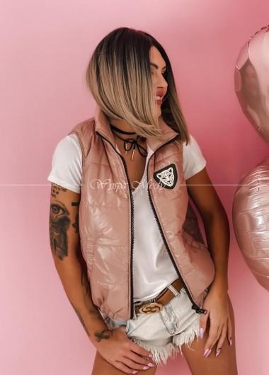 Kamizelka tiger Dirty Pink