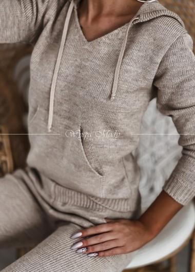 Komplet sweterkowy Beige