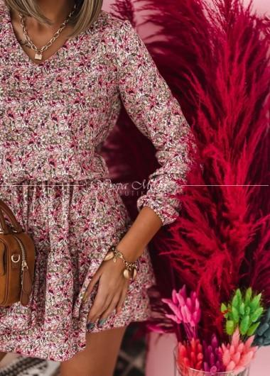Sukienka Iness pink