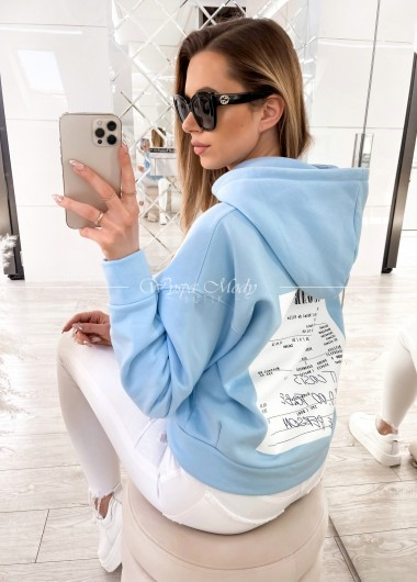 bluza sugar baby blue