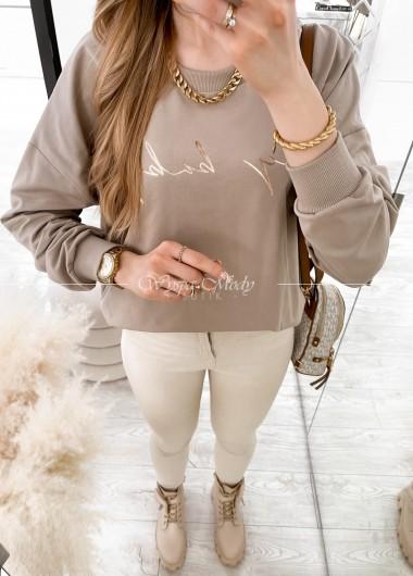 Bluza Candy Camel
