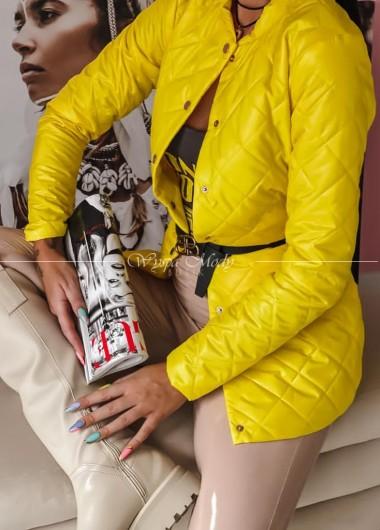 płaszczyk vesso yellow