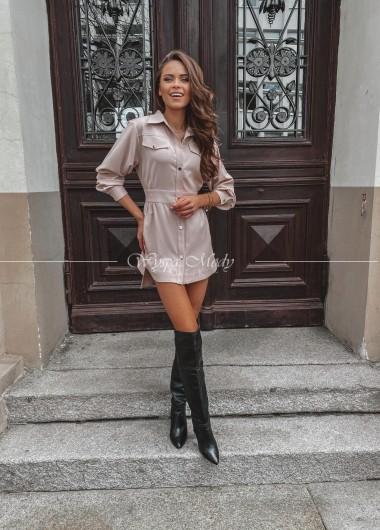 Sukienka Marrone Beige