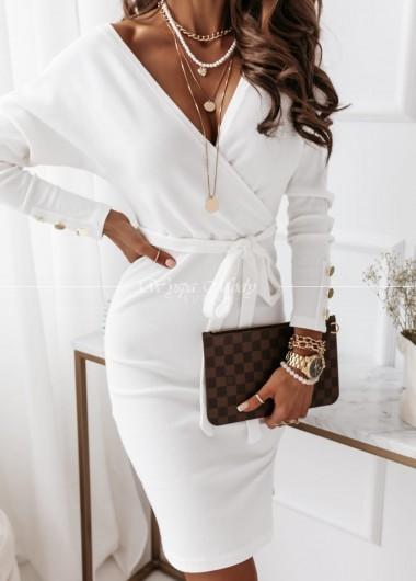 Sukienka white milagris