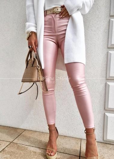 Spodnie Vivienne pink