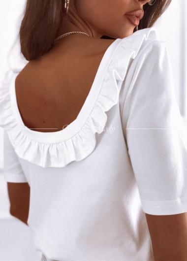Bluzka Amber white