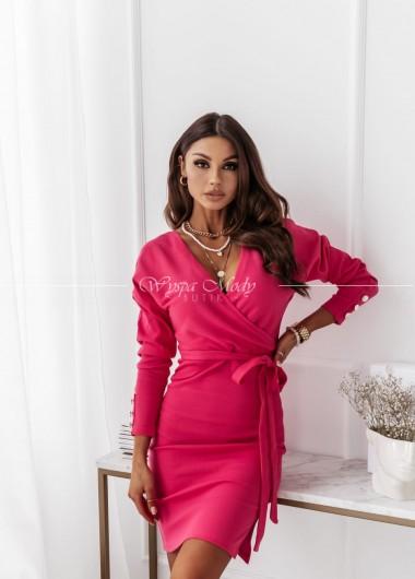 Sukienka Pink Milagros ( czas realizacji do 10 dni roboczych)