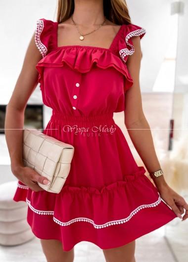 sukienka aurelie red