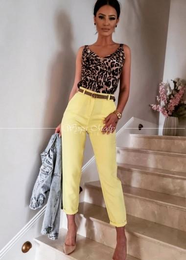 spodnie Clotilde Yellow