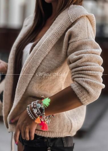 sweterek donnell beige