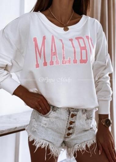Bluza malibu white