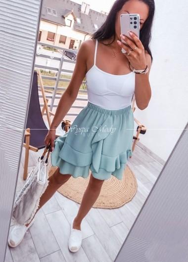 Spódniczka Selena mint