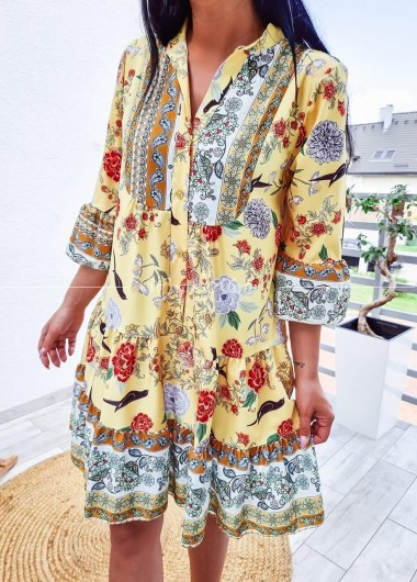 Sukienka Anastazja yellow
