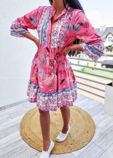 Sukienka Anastazja pink
