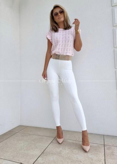 Bluzeczka Ażur light pink