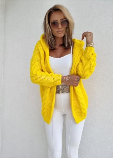 SWETER ELIA Yellow