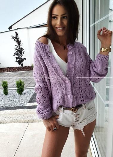 Sweterek Ava fiolet