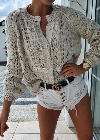 Sweterek Ava beige