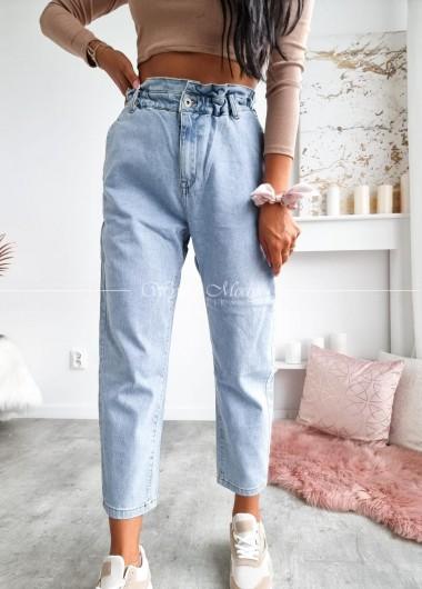 Spodnie buggy jeans