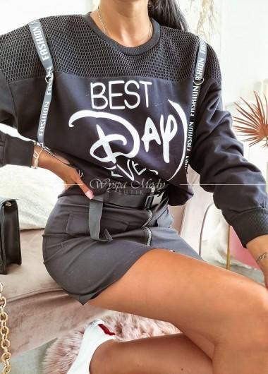 Bluza best day black