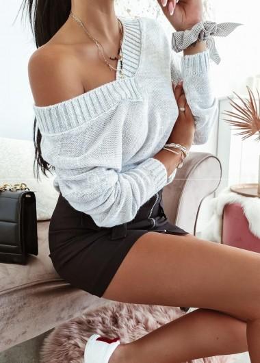 Sweter Amber grey