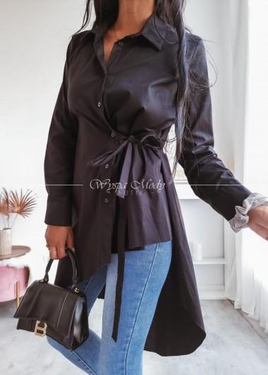 Koszula Asymetryczna black