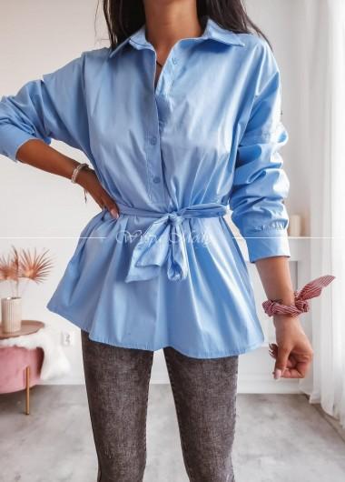 Koszula wiązana blue