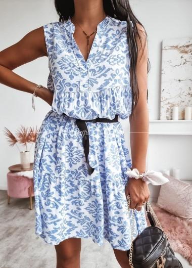 Sukienka viva blue