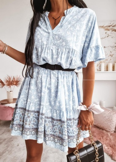 Sukienka Ave blue