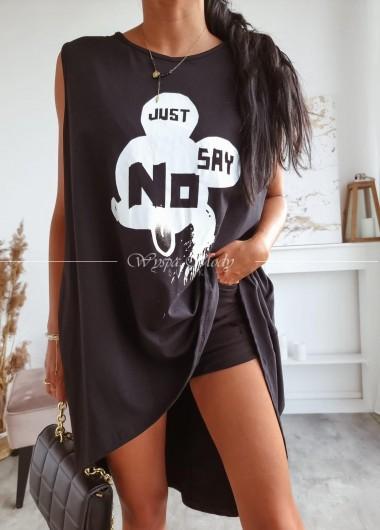 Tunika just say no black