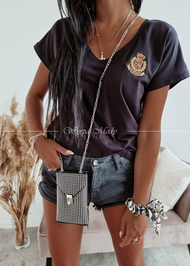 Bluzka fashion black