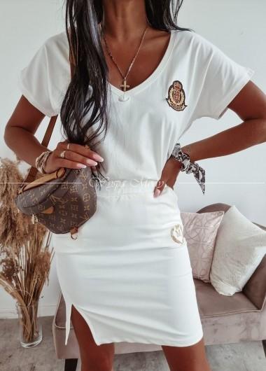 Bluzka Fashion white