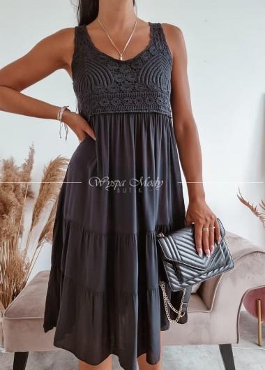 Sukienka Safari Black