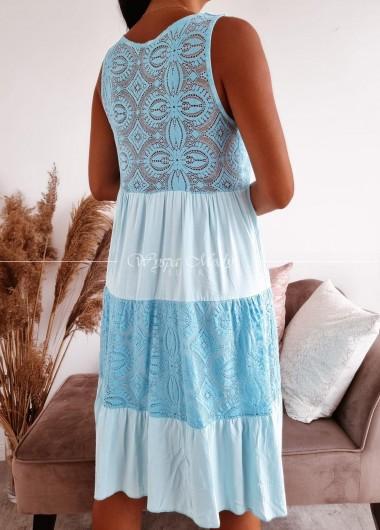 Sukienka Ingrid blue