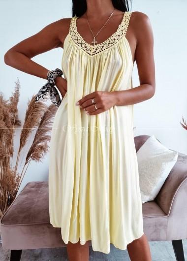 Sukienka Malibu yellow
