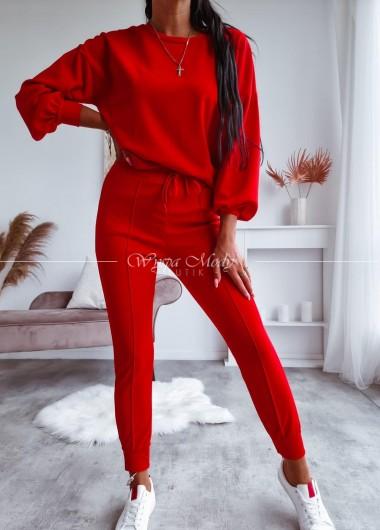 Komplet Alpina red