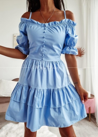 sukienka Valles blue